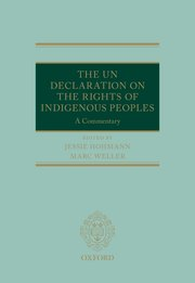 ​The UN Declaration on the Rights of Indigenous Peoples: A Commentary