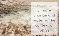 Poverty, Climate Change and Water in the Context of SDGs