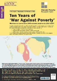 10 Years of War Against Poverty: What have we learnt since 2000 and what should we do 2010-20?