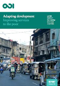 Adapting Development: Improving services to the poor