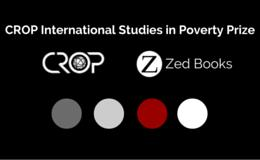 CROP International Studies in Poverty Prize 2016